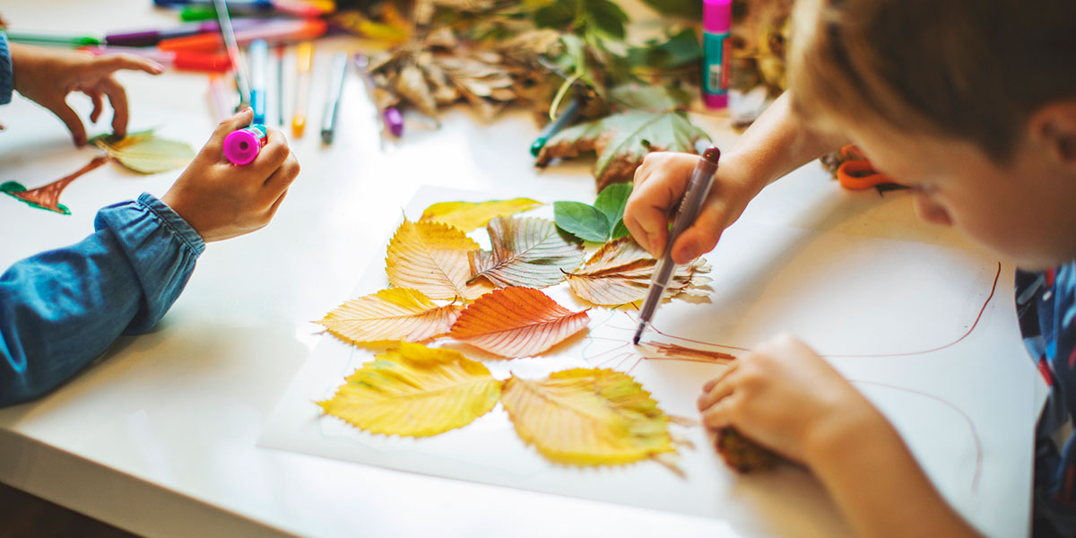 6 fall-friendly crafts that boost fine motor skills